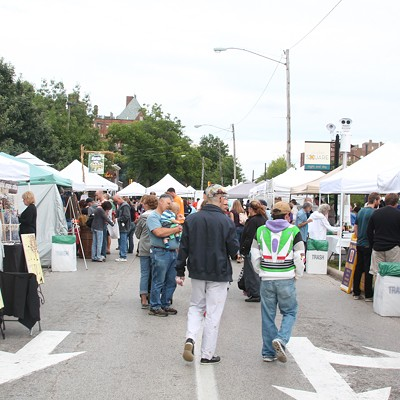 31 Photos from the Cleveland Garlic Festival in Shaker Square