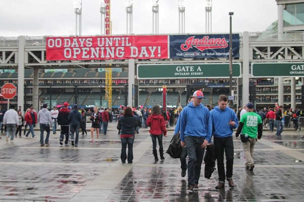 35 Photos from the Cleveland Indians' Opening Day