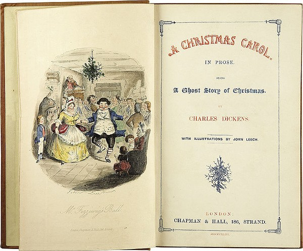 First Edition of Charles Dickens' A Christmas Carol Discovered in Cleveland Public Library ...
