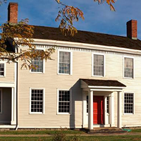 """10 Things Going on in Cleveland this Weekend (December 6-8) A former stagecoach stop, Dunham Tavern Museum lays claim to being """"the oldest building still standing on its original site in the city of Cleveland."""" The building dates back to 1824, so it's safe to say there aren't too many buildings in town that can challenge that claim. For Christmas, the museum staff has decorated the place with natural greenery and made it look like it might have looked in the 1800s. Today from 11 a.m. to 4 p.m., you can check out the decorations at the museum's free holiday party. Hot cider and cookies will be served up in the barn and there will be live music. Admission is free. (Niesel) Photo Courtesy of Animal Collective, Facebook"""