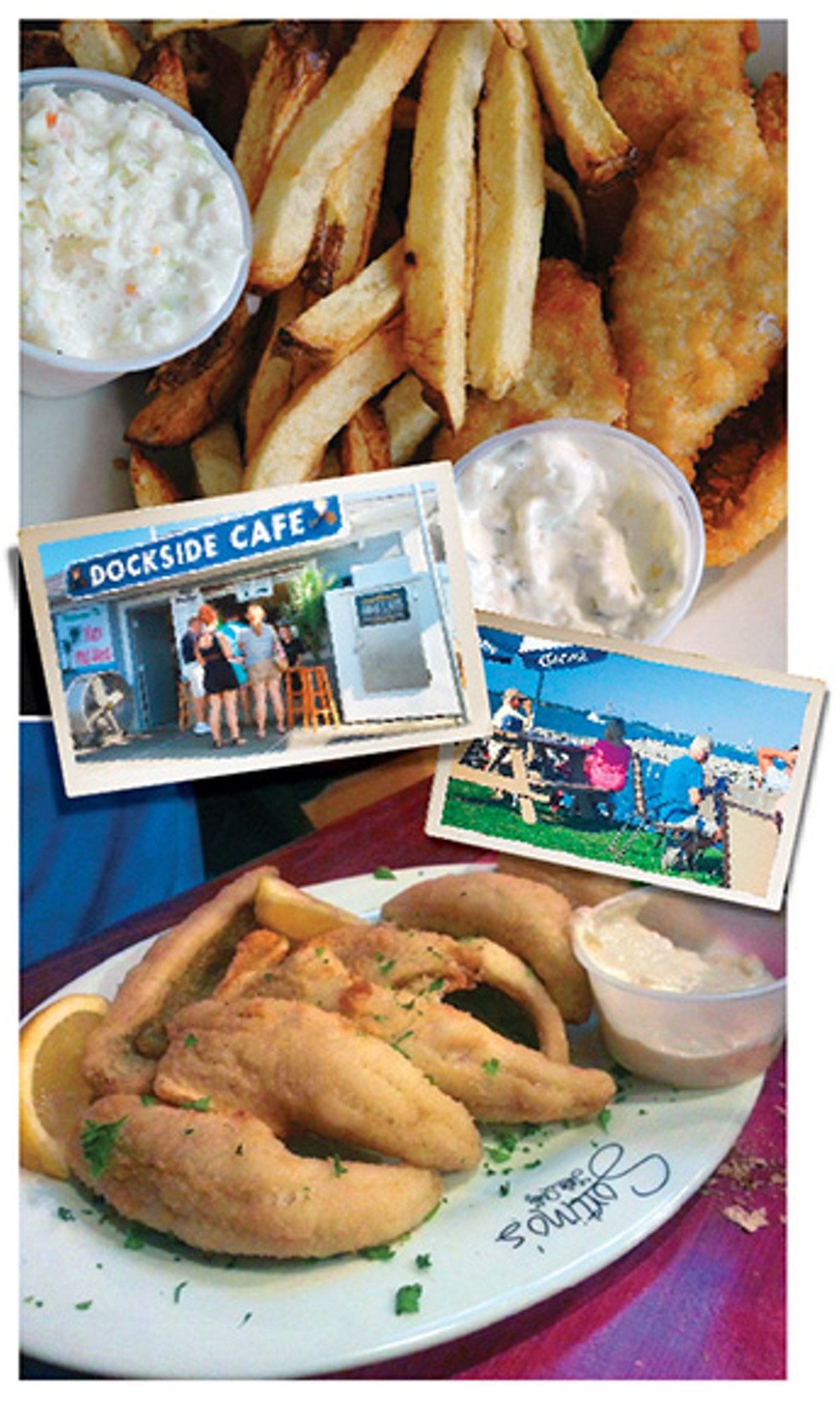 A lake erie fish tale dining lead cleveland scene for New sandusky fish company