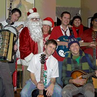 10 Things Going on in Cleveland this Weekend (December 6-8) A nine-person band devoted exclusively to playing original Christmas songs, the Ohio City Singers started out in 2004 as an informal collective of Northeast Ohio musicians. It's slowly evolved into a seasonal enterprise. This year, in addition to playing several shows around the Cleveland area, the group has released A Town Called Christmas, a new album of eclectic tunes that celebrate the season. The group will also release its own special beer and it will reissue 2011's Love and Hope on vinyl. It plays a family show today at 2 p.m. at Vosh and then has shows lined up between now and Christmas. Tickets to today's concert are $8 for adults and $4 for kids. (Niesel) $5 Photo Courtesy of Animal Collective, Facebook