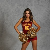 """Q: Has anyone on the team ever dated a Cavs player? A: """"No. That's strictly against our contract. It's the same thing in any workplace, you want to stay professional. We're cordial with everyone in the arena, but at the end of the day we have a job to do, and they have a job to do. We just do our jobs,"""" said Cavs Girl Elise."""