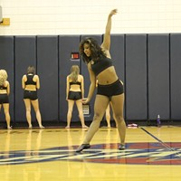 """Q: What are some of the challenges of being a Cavs Girl? (Cont.) A: You also have to learn about time management. Fitting everything into your schedule in addition to jobs and school is difficult. You really have to learn how to prioritize. """"It's a struggle at first, but once you get it down, it's a skill you'll take with you forever,"""" said Cavs Girl Tiffany."""