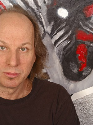Adrian Belew's self-portrait leaves a lot to be desired.