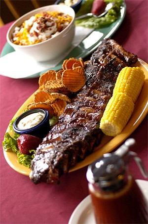 After Malkus failed at his seafood restaurant, Grill Fish, he also failed at a barbecue joint. - WALTER NVOAK