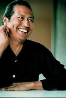 After staring down death, Escovedo has plenty to smile about.