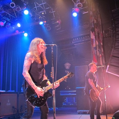Against Me! Performing at House of Blues