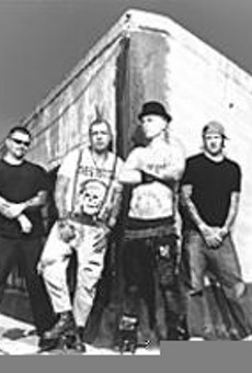 All in the family: The members of Rancid are friends      first, bandmates second.