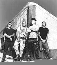 All in the family: The members of Rancid are friends - first, bandmates second.
