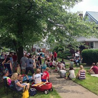 10 Things Going on in Cleveland This Weekend (June 20 - 22) An accumulation of 30 artists playing on 30 different porches (although, usually, not simultaneously), Larchmere Avenue's Porchfest creates a unique musical experience for those who want to get up close and personal with their music. Spend a Saturday listening to local bands and soaking up the sun in one of Cleveland's historical neighborhoods. Photo Via Wikimedia Creative Commons