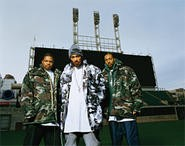 And then there were three: Krayzie (right) and the Bone Thugs in 2007.