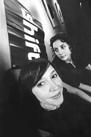 April Rambo (left) and Kate Catanese, the brains behind Shift. - WALTER  NOVAK