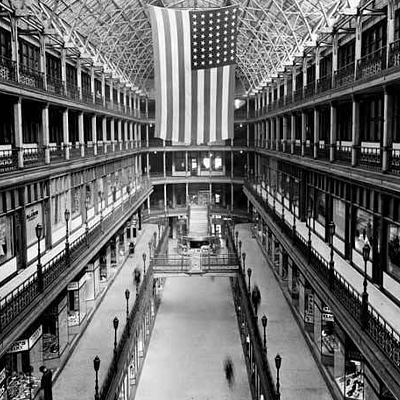 14 Vintage Photos of the Cleveland Arcade