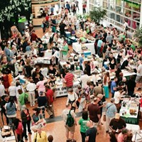 "10 Things Going on in Cleveland this Weekend (June 6 - 8) Are you a vegan yearning for some good old-fashioned fellowship? Yearn no more. Come by Cleveland State University today for an all-day Veg Fest with panels and cuisine and activities all about vegetables and shit. Vegan cuisine from local, independent restaurants will be available for purchase in a ""Cruelty Free Marketplace"" in the CSU Student Center from 10 a.m. to 7 p.m., plus there will be speakers galore, roaming the campus and regaling visitors with ""dynamic"" takes on the vegan lifestyle. Don't miss the screening of The Ghosts in Our Machine at 7 p.m. sharp to round out the day's festivities. (Allard) Photo via Cleveland Scene Archives"