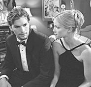 Ashton Kutcher with Amy Smart as Kayleigh, - sorority-bimbo version.