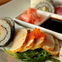 The 10 Best Sushi Restaurants In and Around Cleveland At chef Matt's ultra quaint restaurant in the heart of downtown Chagrin Falls we recommend the spicy tuna roll. It's seriously one of the best we have ever tasted. Photo Courtesy of Ginko, Website