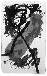 """""""August,"""" by James Kelly, lithograph."""