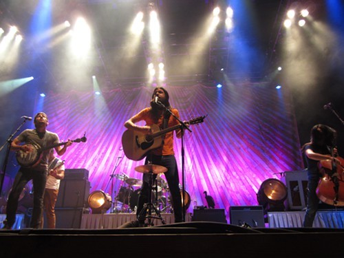 Avett Brothers at Jacobs Pavilion