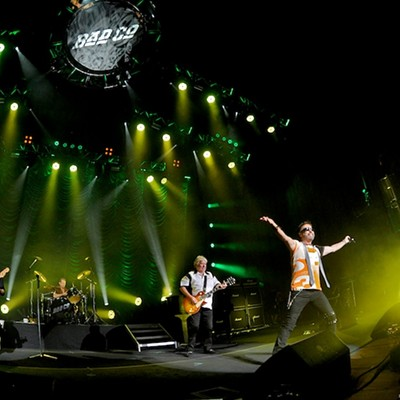 Bad Company and Lynyrd Skynyrd Performing at Blossom