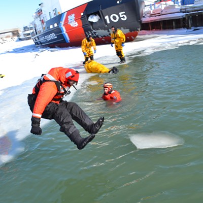 Baptism By Ice: Sam Allard's Plunge Into A Freezing Lake Erie
