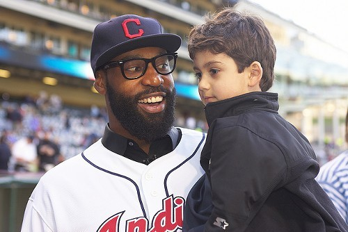 Baron Davis during an Indians game