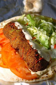 Be sure to sample fresh-from-the-fryer falafel at Maha's Falafil. - WALTER NOVAK