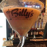 Billy's A Cappelli Martini Bar: Mentor Billy's Arti Chicken Choke ($8), Billy's A Cappelli Martini Bar, Mentor Photo via Yelp