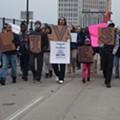 Pics: #BlackLivesMatter Protests Block Detroit-Superior Bridge, E. 9th Street