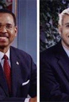 Blackwell seemingly lost interest in courting black voters.