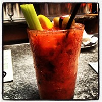 Cleveland Eats: 20 Things You Ate This Week BloodMary = Good times!! Photo Courtesy of Instagram User badbrad1072