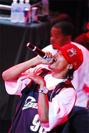 Bone Thugs at House of Blues. - WANDA SANTOS-BRAY