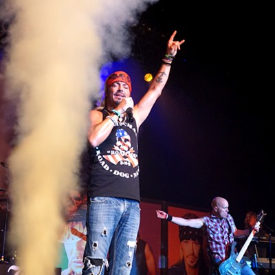 Bret Michaels Performing at Hard Rock Live