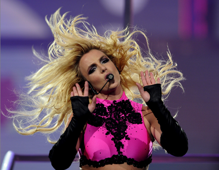 Britney Spears at The Q