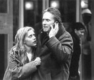 Brittany Murphy clings to oppressed mensch Michael Douglas in Don't Say a - Word.