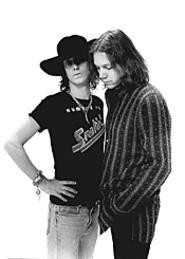 Brothers in arms: Chris and Rich Robinson want you - to shake your money maker again.