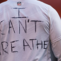 Browns Cornerback Johnson Bademosi Warms Up in T-Shirt Reading: 'I Can't Breathe'