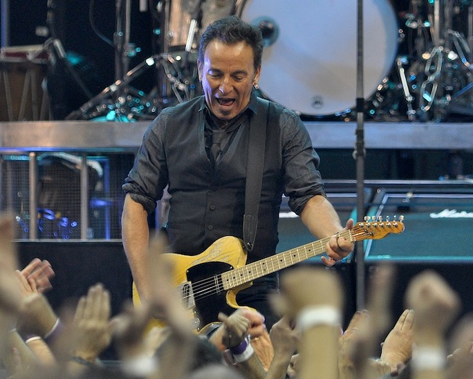 Bruce Springsteen at The Q