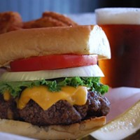 15 of the Best Burger Joints in Cleveland, East to West Burgers 'n Beer is located at 4027 Erie St, Willoughby, OH. Call (440)954-7867 for more information. Photo Courtesy of Instagram User cbusdjesus