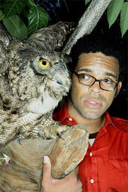 Busdriver watches out for an owl called success.