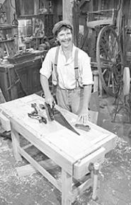 Careful with that planer, Roy! The PBS handyman - stops at the Make It Myself! Expo (Friday).