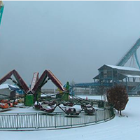 20 Photos of Snowy Ohio Amusement Parks Cedar Point, December 2013 Photo via Cedar Point, Facebook