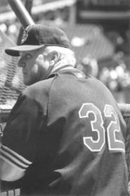 Charlie Manuel, baseball brainiac. - THOM  SHERIDAN