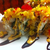The 10 Best Sushi Restaurants In and Around Cleveland Chef Scott Kim brings real deal sushi to Shaker Square. Our pick is the Green Dragon Roll, Alaskan king crab,eel and tempura crunch topped with avocado and unagi sauce. Photo Courtesy of Ginko, Website