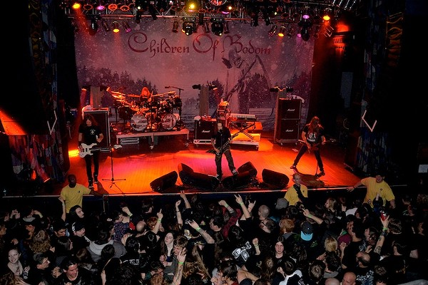 Children Of Bodom, Death Angel and Tyr performing at House of Blues