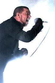 Chimaira frontman Mark Hunter. - WALTER NOVAK