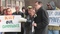 West Side Residents Rally for Keith Sulzer to Return to Post as Second District Commander