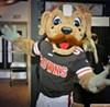 Cleveland Brown's Mascot Chomp