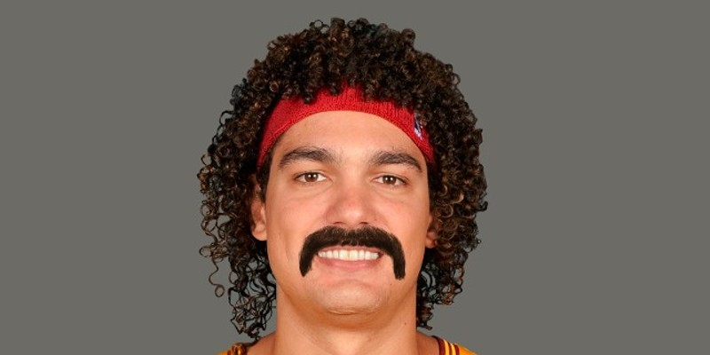 Our Movember Wish List Cleveland Cavaliers Power Forward and Center Anderson Varejao Photo Courtesy of NBA.com