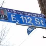 "Cleveland Just Renamed E. 112th St. ""Steve Harvey Way"""